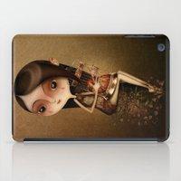 cage iPad Cases featuring Gold Cage by José Luis Guerrero