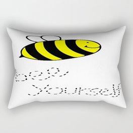 Bee, Yourself Rectangular Pillow