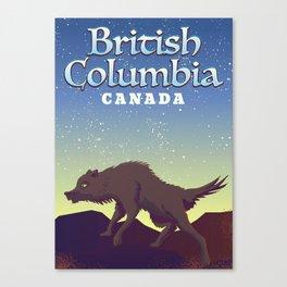 British Columbia Canvas Print