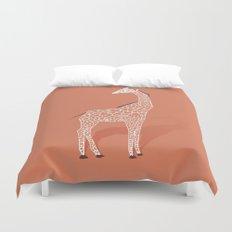 Animal Kingdom: Giraffe I Duvet Cover