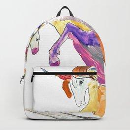 The Colorful Rainbow Fantasy Unicorn Backpack