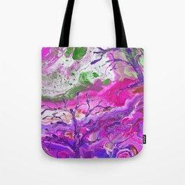 Grassy Knoll Pink Tote Bag