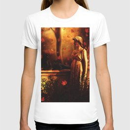 Autumn Black Cats T-shirt
