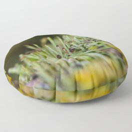 micro forest Floor Pillow