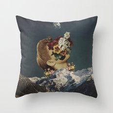 'Mourning at Morning' Throw Pillow
