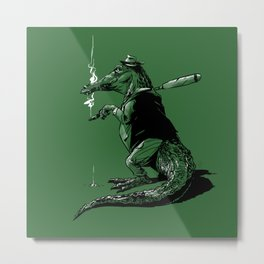 Go get some green, Green! Metal Print