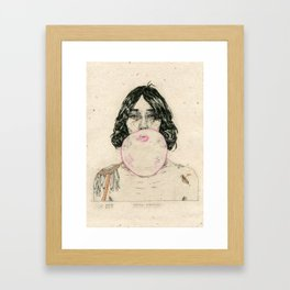 Hard Knock Framed Art Print