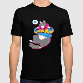Pride Cats - Pansexual Pride T-shirt