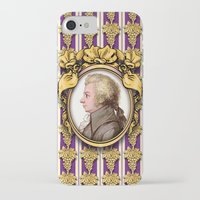 mozart iPhone & iPod Cases featuring Mozart Wallpaper by Glenn Designs