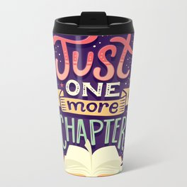 One more chapter Metal Travel Mug