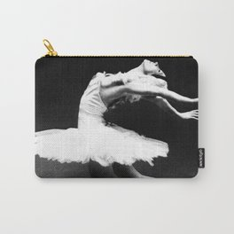 Swan Lake Ballet Magnificent Natalia Makarova black and white photograph  Carry-All Pouch
