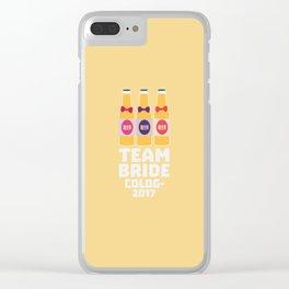 Team Bride Cologne 2017 T-Shirt Dpn32 Clear iPhone Case