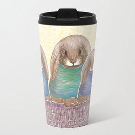 Bunnies at sea Travel Mug