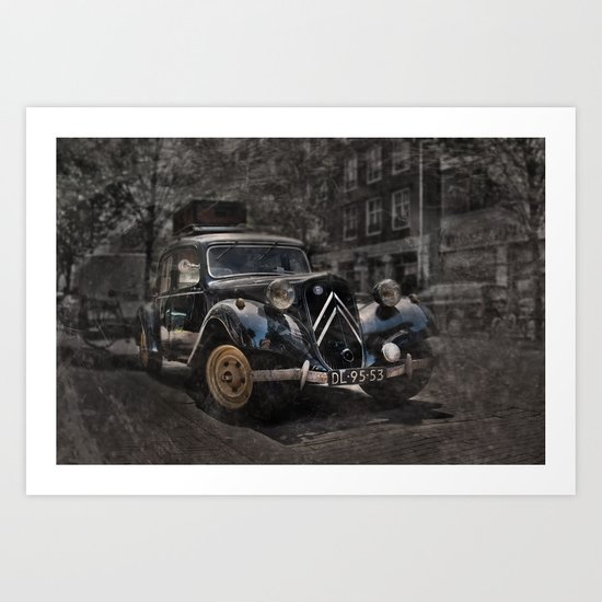 Ready for the trip Art Print