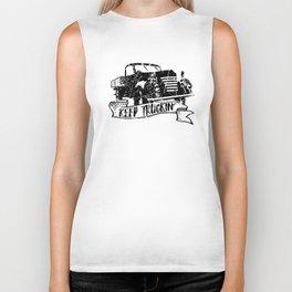 Keep Truckin' Biker Tank