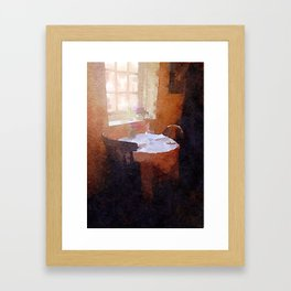 Tea Shop Framed Art Print