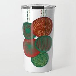Christmas Baubles (Abstract) Travel Mug