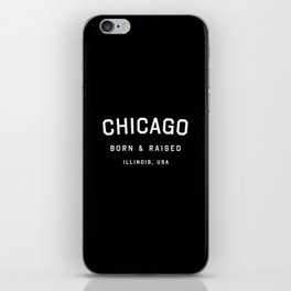Chicago - IL, USA (Arc) iPhone Skin