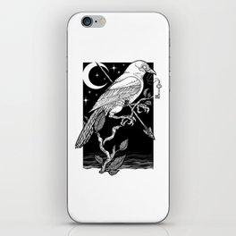 Night Crow iPhone Skin