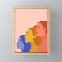 Feminist Fighters Framed Mini Art Print