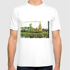 Cute amusement park. White Mens Fitted Tee MEDIUM
