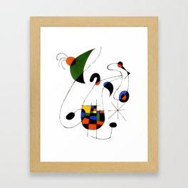 Joan Miro Framed Art Print