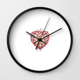 Take Care of My Heart, Valentine Wall Clock