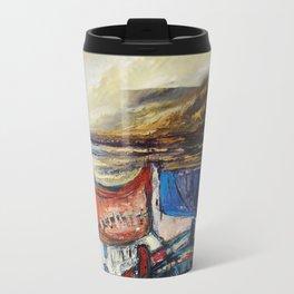 Irish landscape.acrylic on canvass Travel Mug
