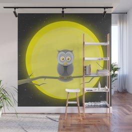 Night owl Wall Mural