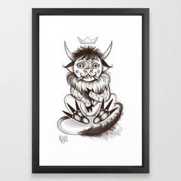 My little wild thing.  Framed Art Print