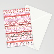 Red Design Stationery Cards