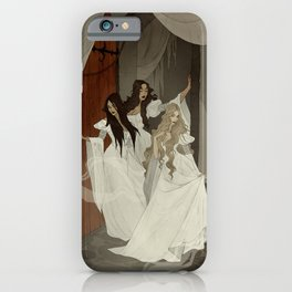 Those Weird Sisters iPhone Case