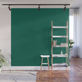 Wizzles 2020 Hottest Designer Shades Collection - Emerald Green Wall Mural
