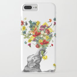 Happy Baby Elephant iPhone Case