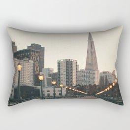 Transamerica Pyramid Rectangular Pillow