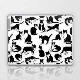 Tuxedo Cats Laptop & iPad Skin