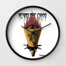 Cucurucho Reings The Chaos Wall Clock