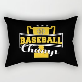 Baseball Camp Rectangular Pillow