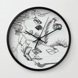 Ribbon Lifecycle Wall Clock