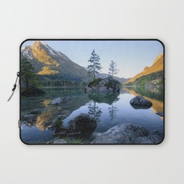 Lake Hintersee in bavaria during the Sunrise Laptop Sleeve