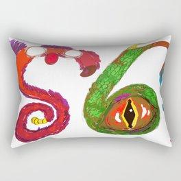 S6 Monsters (S6 Tee) Rectangular Pillow