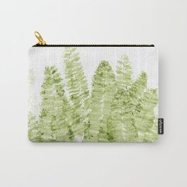 Fern Watercolor Carry-All Pouch