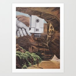 A Simple Recording Art Print