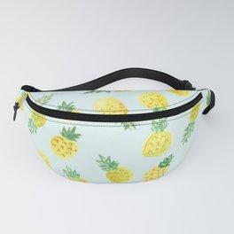 Pineapple Pattern Watercolor Fanny Pack