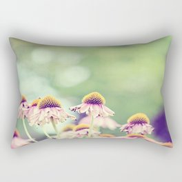 Rusty Coneflowers Rectangular Pillow