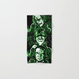 House of Monsters Phantom Frankenstein Dracula classic horror Hand & Bath Towel