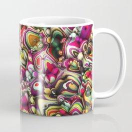 Colorful Abstract 3D Shapes Coffee Mug