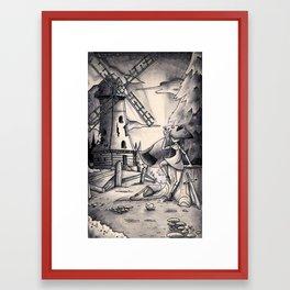 The Windmill Framed Art Print