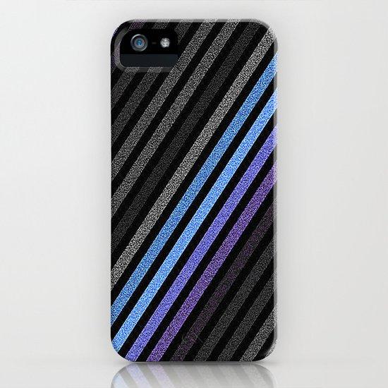 stripES Slate Gray Blue Periwinkle Pixels by lilkiddies