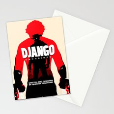 Django Unchained Poster Stationery Cards